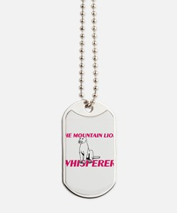 The Mountain Lion Whisperer Dog Tags