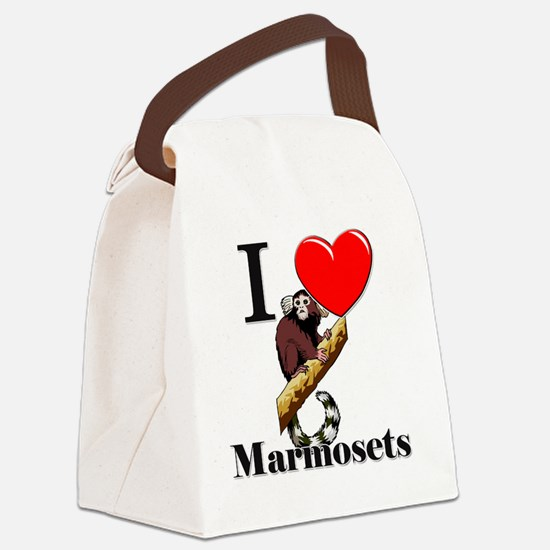 Marmosets111238 Canvas Lunch Bag