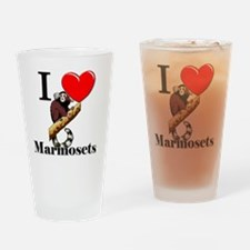 Marmosets111238 Drinking Glass