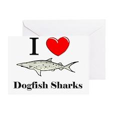 Dogfish-Sharks71126 Greeting Card