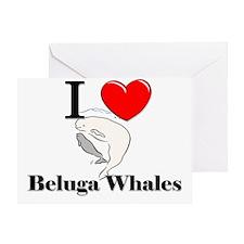 Beluga-Whales9444 Greeting Card