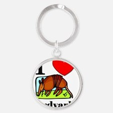 Aardvarks651 Round Keychain