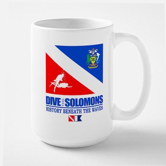 Dive the Solomons Mug