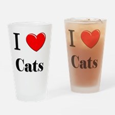 Cats54 Drinking Glass