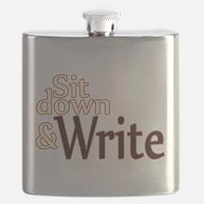 Sit Down Write Flask