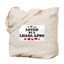Loved: Lhasa Apso Tote Bag
