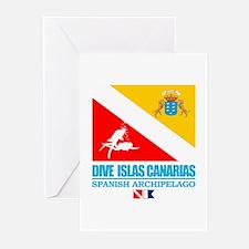 Dive Islas Canarias Greeting Cards (Pk of 10)