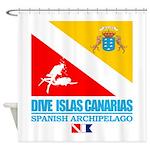 Dive Islas Canarias Shower Curtain