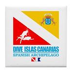Dive Islas Canarias Tile Coaster