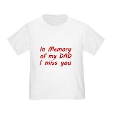 In memory of my DAD T-Shirt