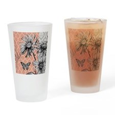 Heather Myers 036d MODERN BLOOMS coral 2 Drinking