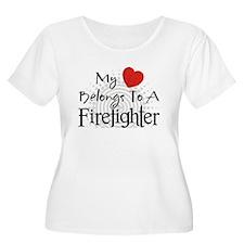My heart belongs Plus Size T-Shirt