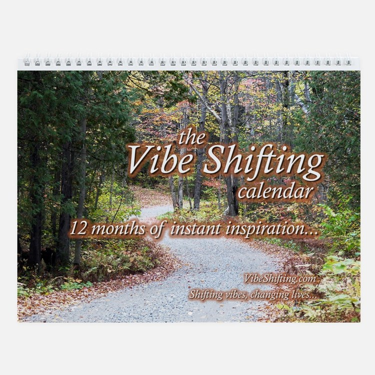 Vibe Shifting Inspirational Quotes Calendar