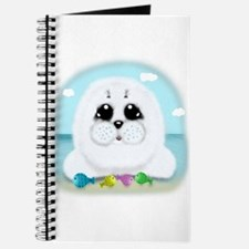 Baby Seal and fish (txt) Journal