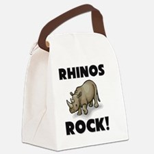 RHINOS10596 Canvas Lunch Bag