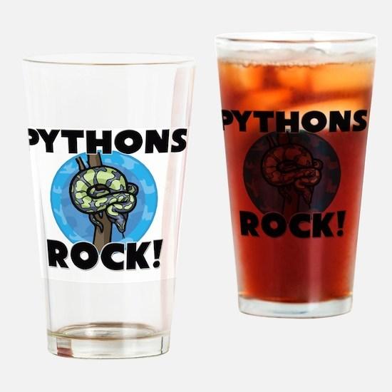 PYTHONS101112 Drinking Glass