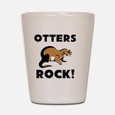 OTTERS146144 Shot Glass