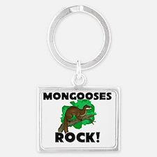 MONGOOSES60171 Landscape Keychain