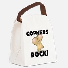 GOPHERS147256 Canvas Lunch Bag