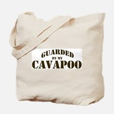 Cavapoo: Guarded by Tote Bag