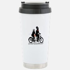 Just Married Cyclists Travel Mug