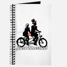 Just Married Cyclists Journal