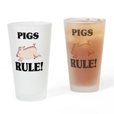 PIGS127131 Drinking Glass