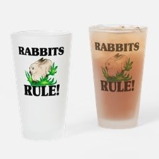 RABBITS21110 Drinking Glass