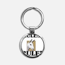 MULES54164 Round Keychain