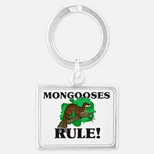 MONGOOSES147171 Landscape Keychain