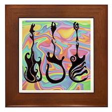 PyschoDELIC guitars Framed Tile