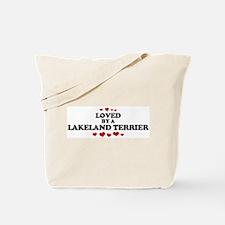 Loved: Lakeland Terrier Tote Bag