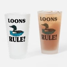 LOONS57194 Drinking Glass