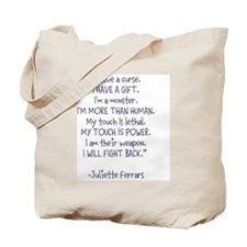 I Will Fight Back Tote Bag