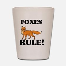 FOXES63271 Shot Glass