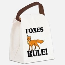 FOXES63271 Canvas Lunch Bag
