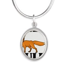 FOXES63271 Silver Oval Necklace