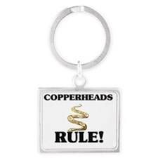 COPPERHEADS137318 Landscape Keychain