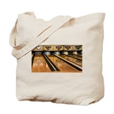 The Bowling Alley Tote Bag