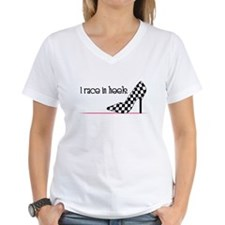 Race In Heels T-Shirt