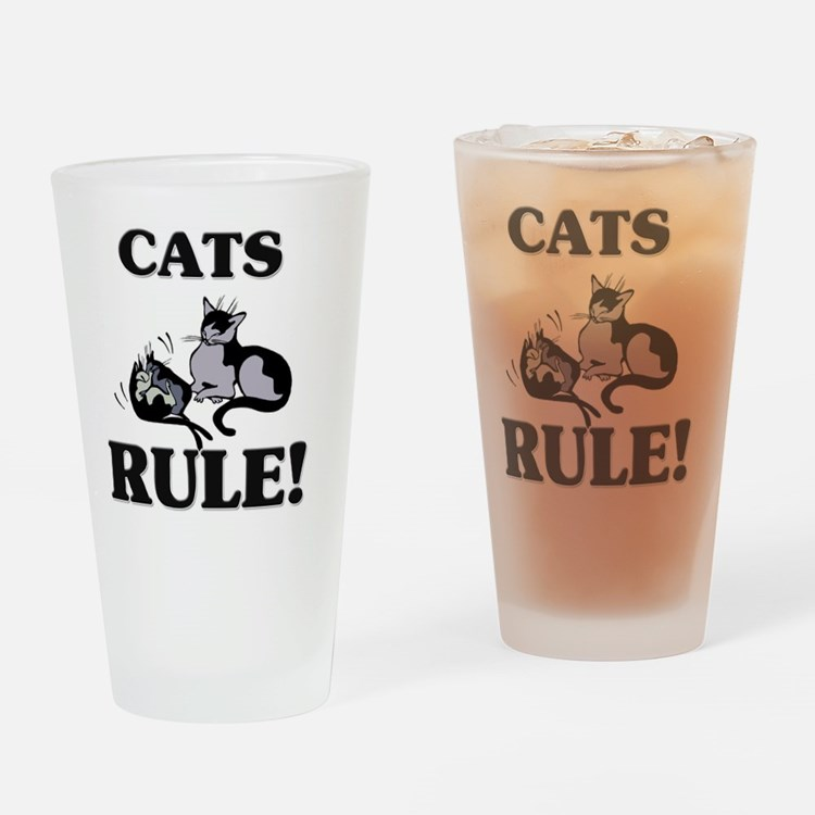 CATS93342 Drinking Glass