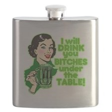 Drink You Under The Table Flask
