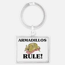 ARMADILLOS79404 Landscape Keychain