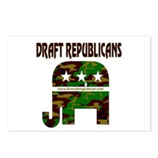Draft Republicans Postcards (Package of 8)