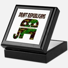 Draft Republicans Keepsake Box