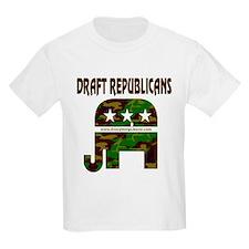 Draft Republicans Kids T-Shirt