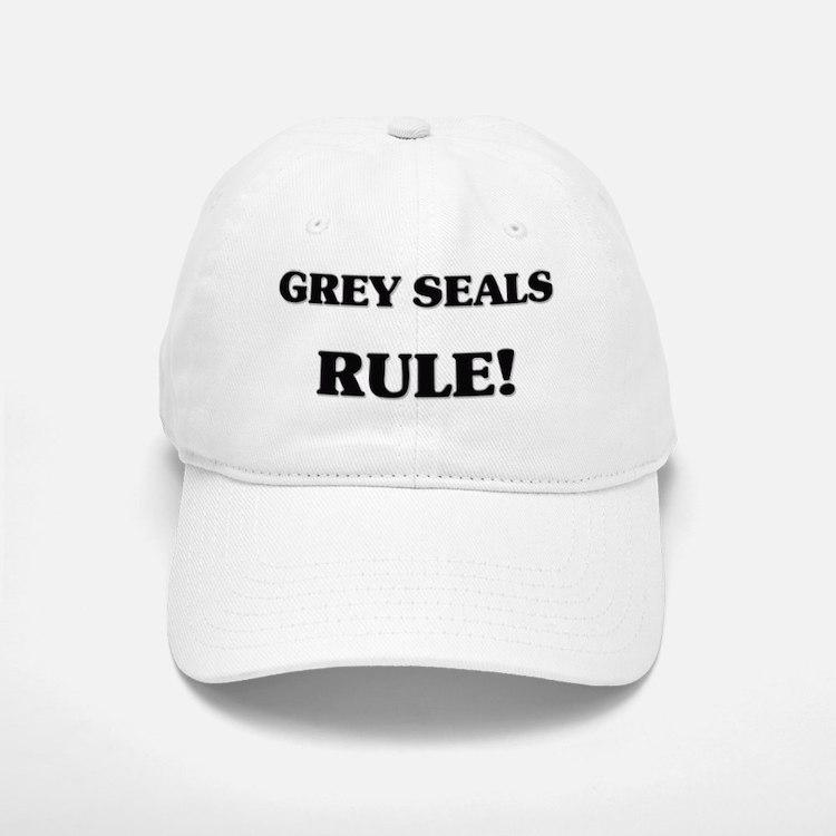 GREY-SEALS134 Baseball Baseball Cap