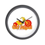 Old School Big Wheel Wall Clock
