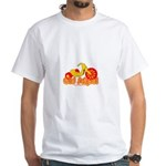 Old School Big Wheel White T-Shirt