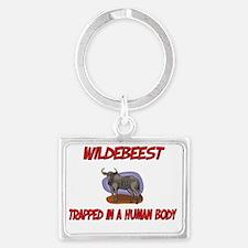 Wildebeest1289 Landscape Keychain